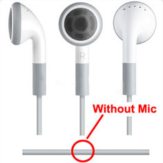 Earbuds for MP3 Players