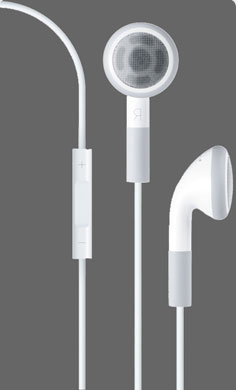 Earbud for iPhone 4