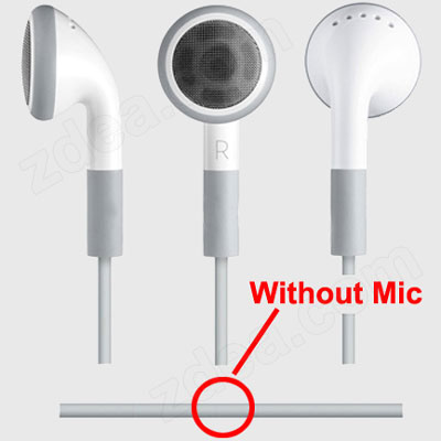 Earbuds for MP3 Players	 2